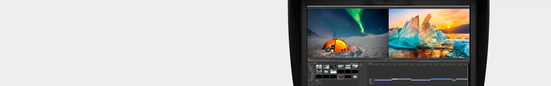 Professional post-production and color correction monitors - Avacab