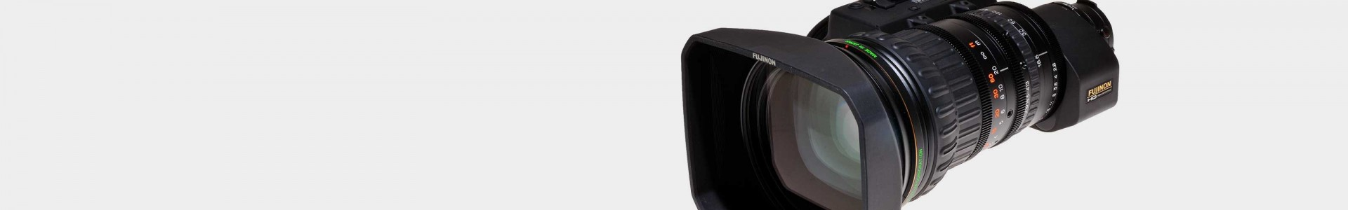 Broadcast lenses with B4 mount from Canon and Fujinon - Avacab