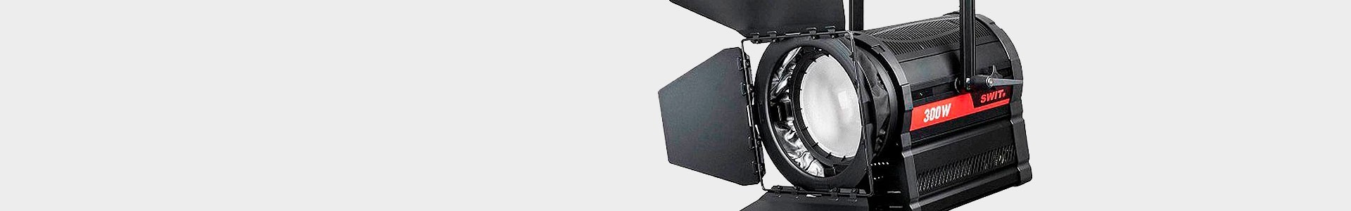 Faretti Fresnel a LED per Cinema o Video - Avacab