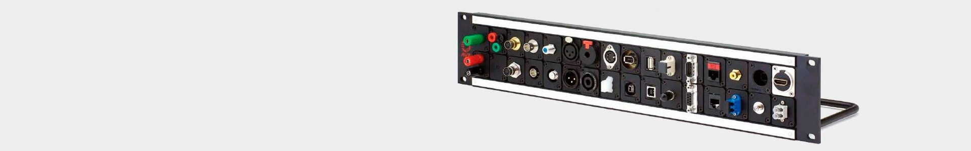 Audio, video and configurable patch panel - Avacab Audiovisuales