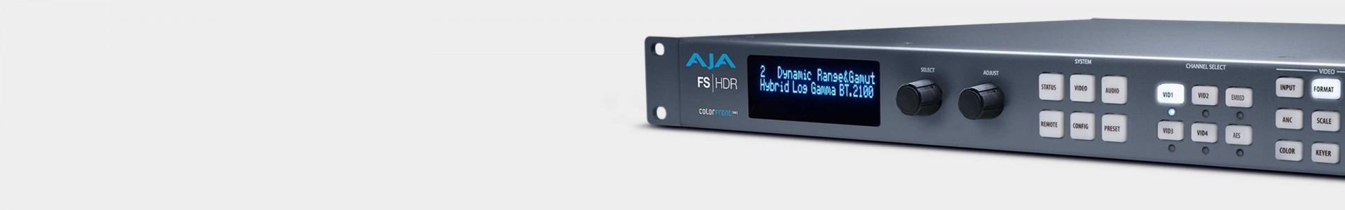 AJA Video synchronizers - Avacab official AJA dealer