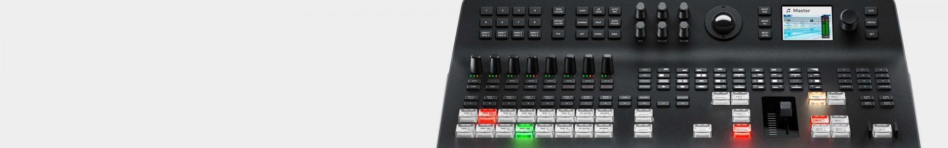 Mezcladores Vídeo Blackmagic - Avacab distribuidor oficial