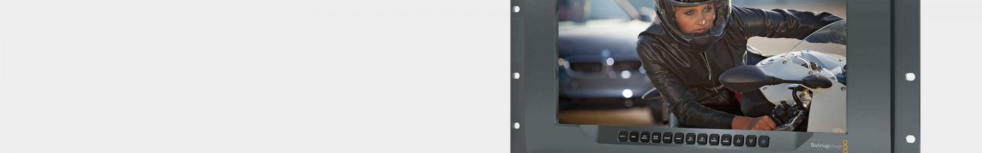 Monitores de vídeo Blackmagic en Avacab - Distribuidores oficiales