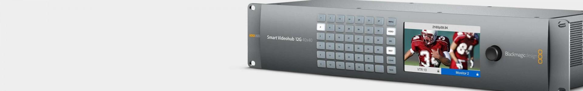 Blackmagic video matrixes chez Avacab - Distributeur officiel