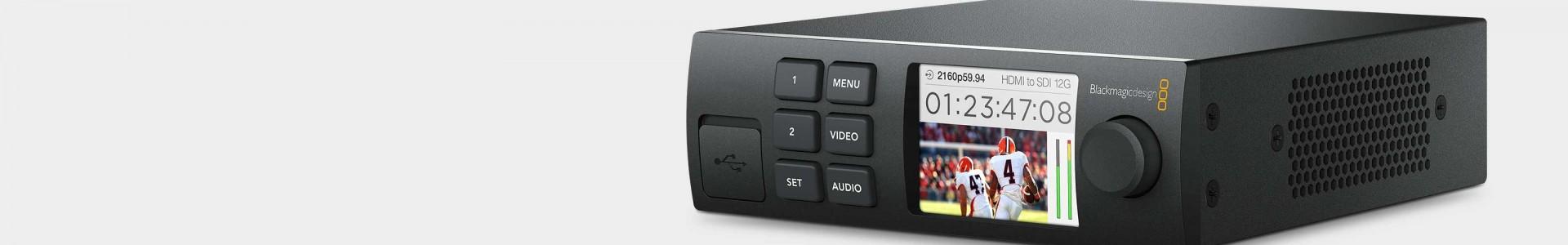 Gama Teranex Mini de Blackmagic en Avacab - Distribuidor oficial