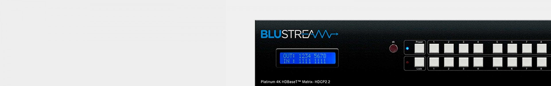 Blustream at Avacab - Special price for installers and integrators