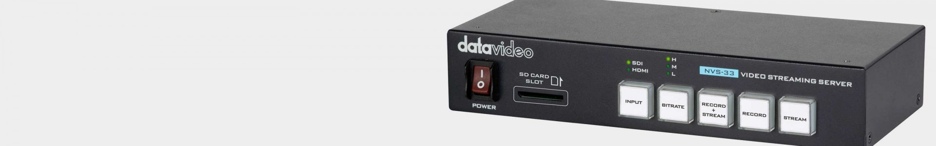 Datavideo Streaming Encoders at Avacab - Professional quality