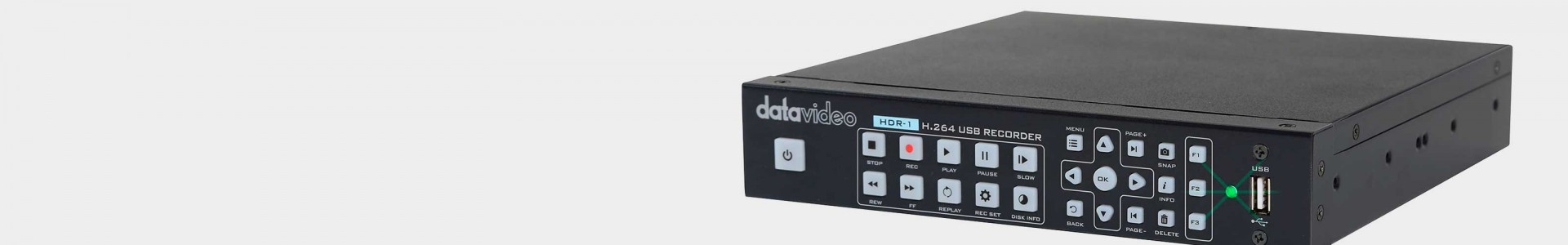 Datavideo video recorders - Professional solutions - Avacab