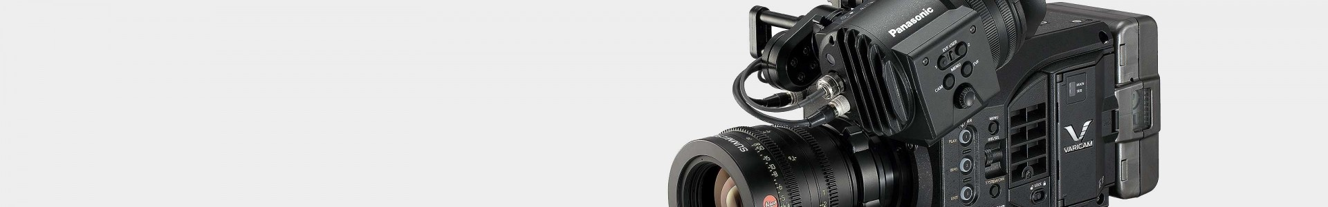 Cámaras de Cine Digital Panasonic - Avacab Audiovisuales