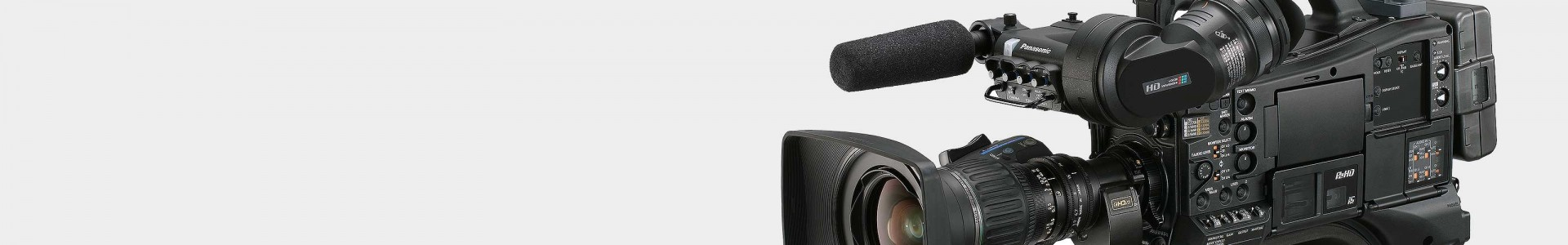 All Panasonic professional video cameras - Avacab