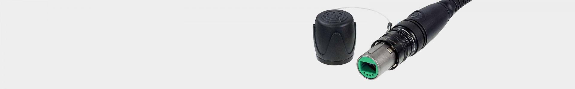 Neutrik opticalCON connectors for fiber optics - Avacab Audiovisuales