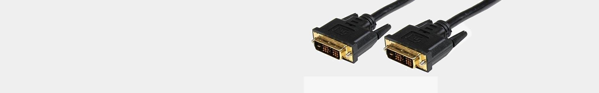 Cables DVI profesionales al mejor precio online en Avacab