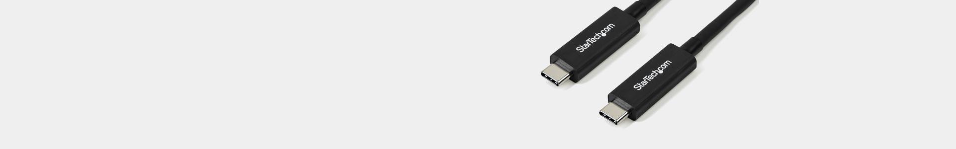 Cables Thunderbolt para aplicaciones audiovisuales - Avacab