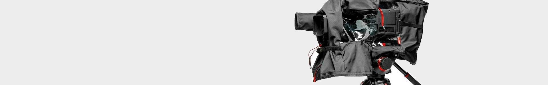Fundas de lluvia para cualquier tamaño de cámara profesional - Avacab