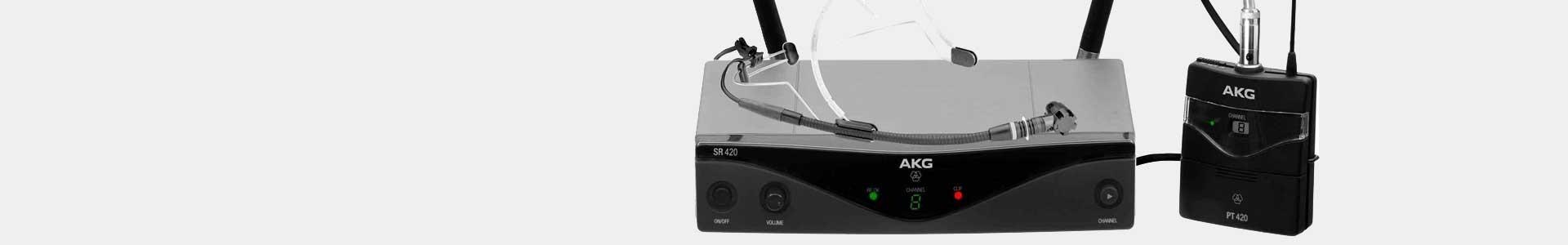 Microfoni Wireless delle principali marche - Avacab