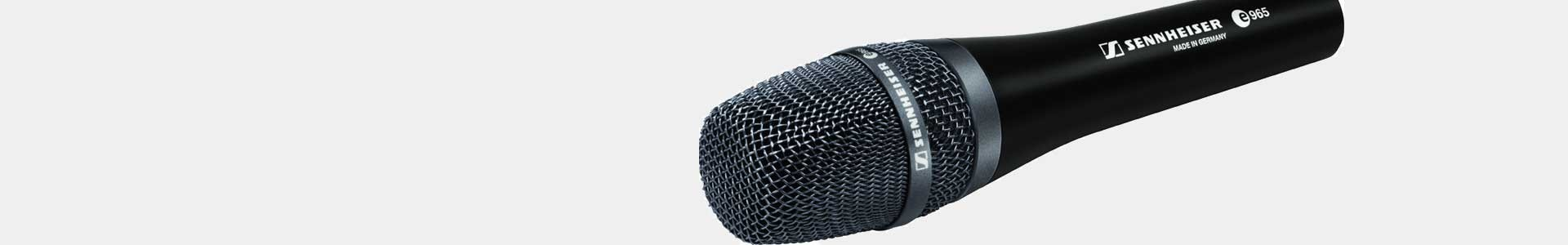 Professional handheld microphones at the best price - Avacab