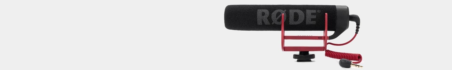 Micrófonos profesionales para Cámaras de Vídeo - Avacab