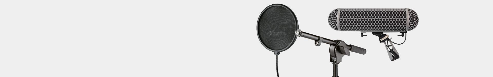 Todo tipo de accesorios para micrófonos profesionales - Avacab