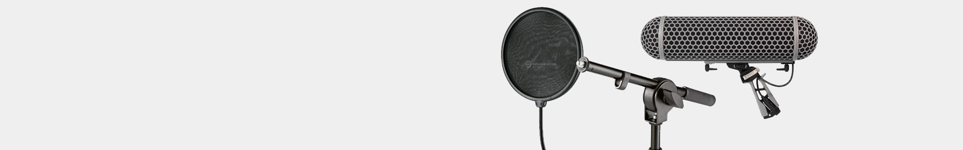 All kinds of accessories for professional microphones - Avacab