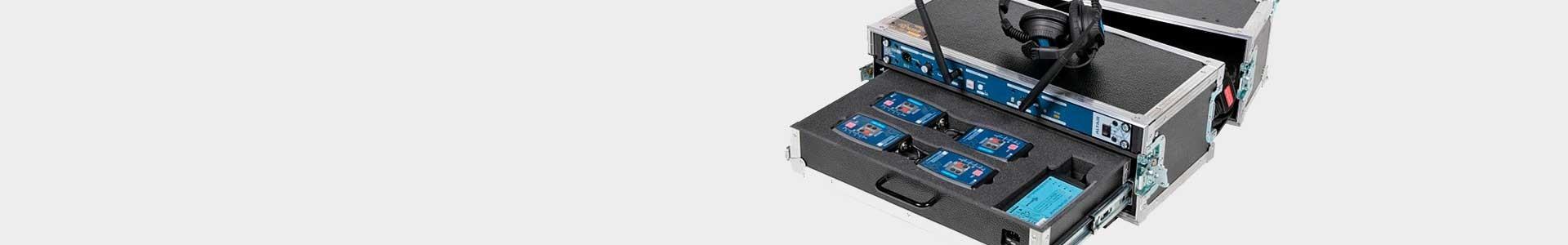 Transport cases for Altair intercom equipment - Avacab