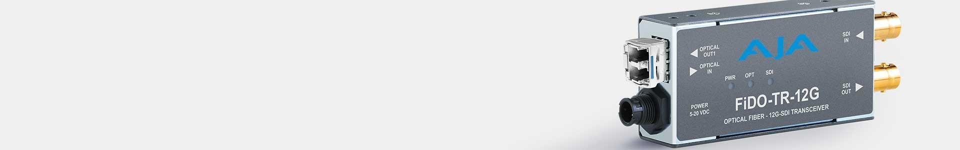 Conversores Transmisores vídeo SDI por Fibra Optica - Avacab