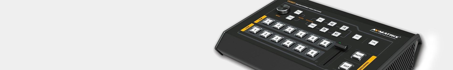 Mezcladores vídeo AVMatrix - Calidad y buen precio - Avacab