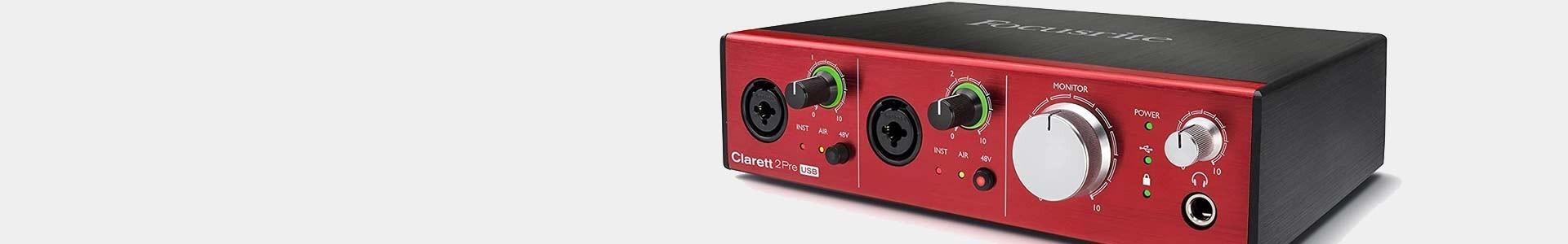 Focusrite - Interfaces for audio recording - Avacab