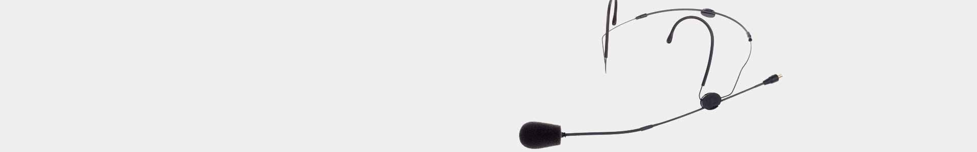 Sennheiser Headband Microphones in Avacab Audiovisuales